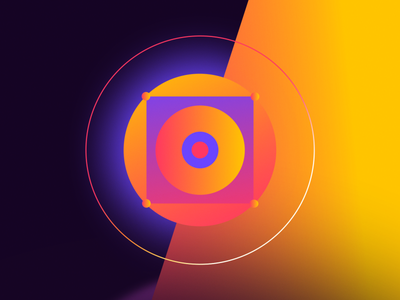 """""""We are better together."""" covid covid-19 abstract design illustration gif animation 2d after effects"""