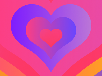 """""""Fight the stress. Share love."""" covid19 covid love heart loop design illustration animation 2d after effects"""