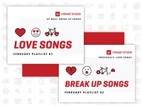 FAS February Playlists: Love / Break Up