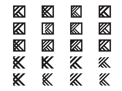 K23 Brand Experiments 2 branding brand logo symbol icon 3 2 k k23