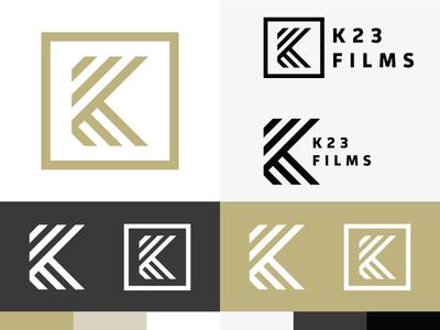 K23 Logo branding brand logo symbol icon 3 2 k k23