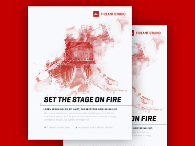 Fireant Studio Stage Ad exposure double ant fire ad stage studio fireant