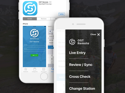 Race App in the App Store 7 iphone ios overlay menu store running app race