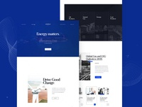 Paicu & Sons Website typography energy oil webdesign minimal interaction design ui ux landingpage web webpage website design website