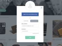 Login /  Signup - Modal Window
