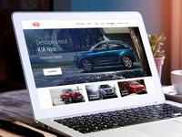 Kia Homepage