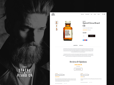 Stache & Beard Product Page