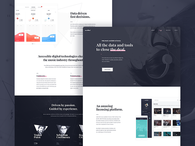 SoundFeed - Landing Page