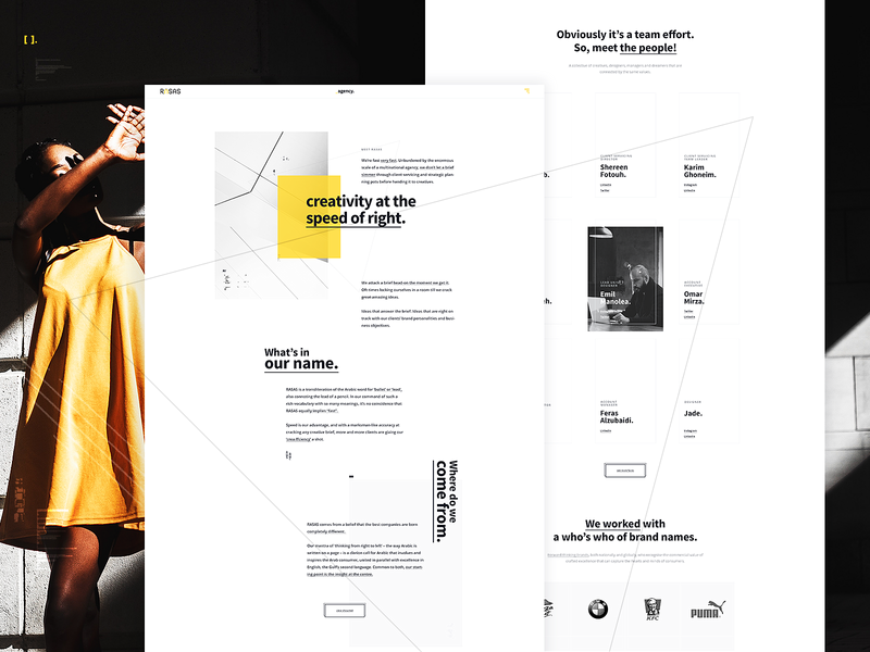 Rasas Agency Profile Design