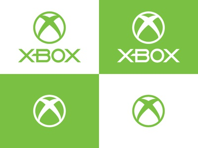 Xbox Redesign logo vector branding graphics design xbox