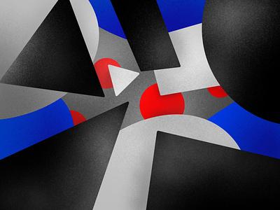 Abstract shading procreate joby graphics illustration