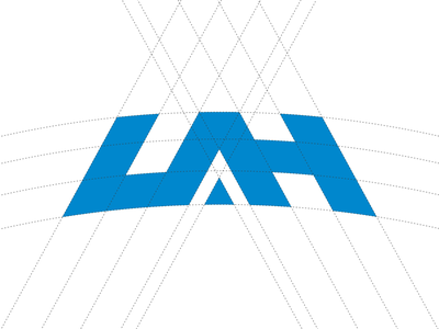 UAH Logo Update branding design icon grid college uah logo