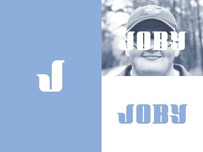 Joby LogoType logotype text joby type design branding logo