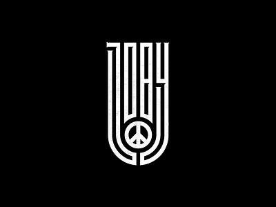 Joby x Peace Lettering lettering branding joby logo graphics design