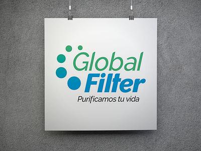 Global Filter logo design branding
