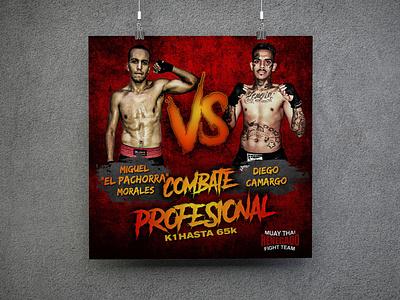 Banner Renegado Fight Team illustration branding design