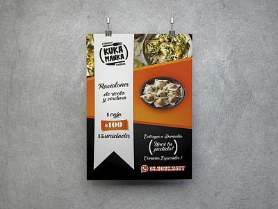 Banner Kuka Manka illustration design branding