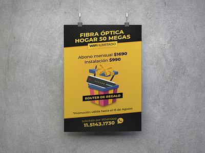Banner Metronet 01 illustration design branding
