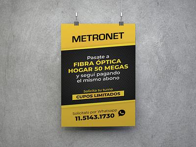 Banner Metronet 02 illustration design branding