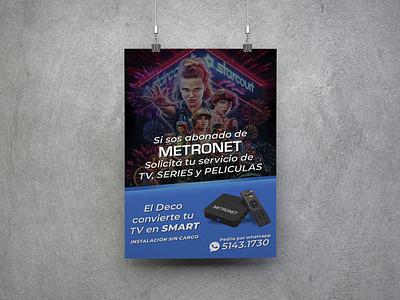 Banner Metronet 03 illustration design branding