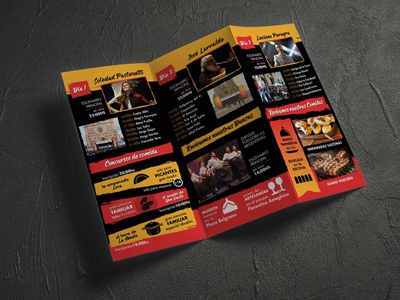 Flyer Evento illustration design branding
