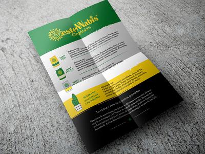 Flyer OesteNNabis illustration design branding