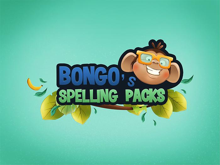 Bongos spelling packs