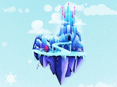 Ice Castle Island