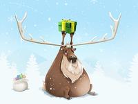 Fat Reindeer