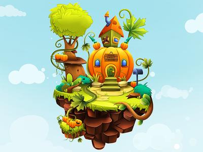 Pumpkin House Island