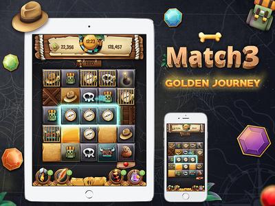 Match 3 - Golden Journey