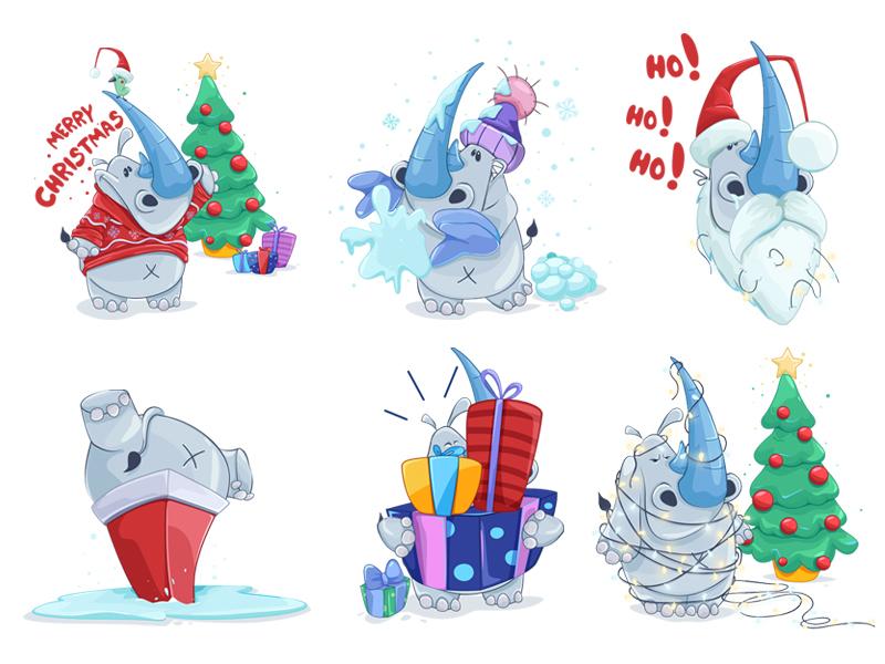 Christmas dribbble
