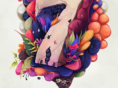 7 typo concept whimsical illustration 7
