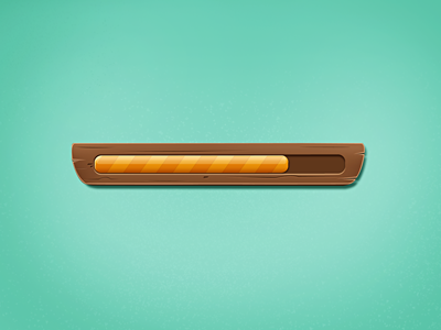 Loading Bar loading progress bar ui ios wood concept
