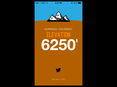 Elevation App Mockup iOS ios mobile ui development