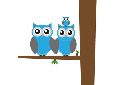 Dahoots Family illustration rapid-prototype brain-wipe