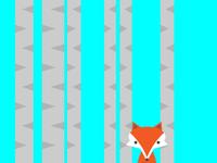 Fox in Aspens