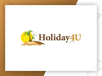 Holiday4U - Logo Designed By Pixlogix graphic design logo design