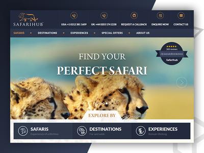 SafariHub - Web Design & Develop By Pixlogix