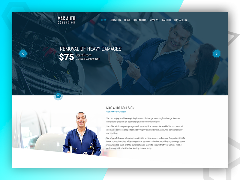 Mac Auto - Website Design and Developed By Pixlogix web development web design graphic design
