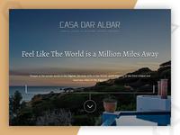 Casa Dar Albar | Web Design and development for Travel Business