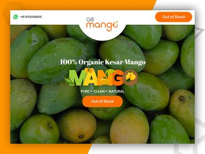 Gir Mango - online food ordering website design and development