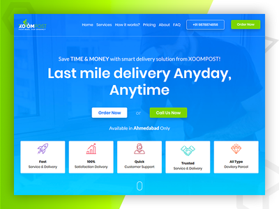 Xoompost - Delivery Partner