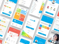 Interview Online App Ui Designs