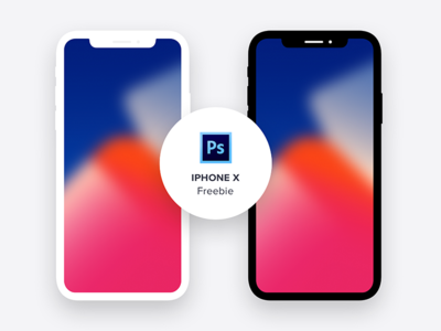 iPhoneX - Minimal Freebie (PSD) flat design psd. design psd minimal iphone mockup freebie iphone x iphonex