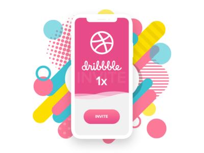 1x Dribbble invite latest invite latest dribble invite invite invites dribbble invites
