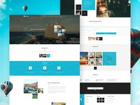 Squares Travel & Hotel Web Design