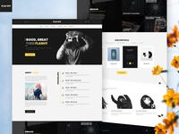 Creative Agency Yellow UI Theme