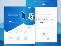 BoostIT - Modern Gradient IT Theme Design