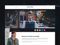 Class For Men - Fashion Shopping Web Design